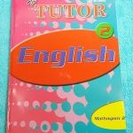 ►The Tutor◄ หนังสือเรียนภาษาอังกฤษ ม.2 สรุปแกรมม่า การใช้ Tense ต่างๆ มีข้อควรระวังหลายจุด มีโจทย์แบบฝึกหัดหลากหลายแนว ด้านหลังมีเฉลย หนังสือใหม่เอี่ยม