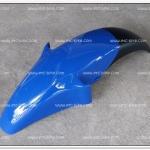บังโคลนหน้า NOVA-RS สีน้ำเงิน/ดำ