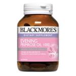 Blackmores Evening Primrose Oil 1000mg 60 แคปซูล เพิ่มความชุ่มชื่นให้ผิวที่แห้งกร้าน ลดอาการปวดประจำเดือนและคัดตึงหน้าอก ช่วงก่อนมีประจำเดือน