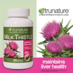 Trunature-Milk Thistle 200mg 300เม็ด สมุนไพรบำรุงตับ ช่วยจับ/กำจัดสารพิษในร่างกาย (สำหรับป้องกันและถนอมตับ) (หมด-ไม่มีผลิตแล้วค่ะ) แนะนำ premium-milk thistle