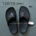 * NEW * FitFlop Men's : SURFER : Black : Size US 10 / EU 43