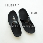 * NEW * FitFlop Pierra : Black : Size US 6 / EU 37
