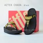**พร้อมส่ง** รองเท้า FitFlop Aztek Chada : Black : Size US 6 / EU 37