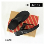 * NEW * FitFlop The Skinny : All Black : Size US 6 / EU 37
