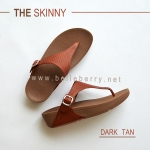* NEW * FitFlop : The Skinny : Dark Tan : Size US 8 / EU 39