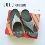 **พร้อมส่ง** FitFlop LULU Superglitz : Silver : Size US 6 / EU 37
