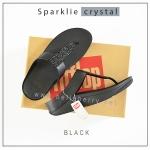 FitFlop : Sparklie Crystal : Black : Size US 7 / EU 38