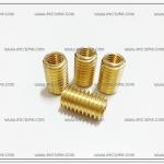ทองเหลืองต๊าฟเกลียว #12 เกลียวใน 8mm. STD (4ตัว/ชุด)