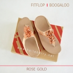 * NEW * FitFlop : BOOGALOO : Rose Gold : Size US 7 / EU 38