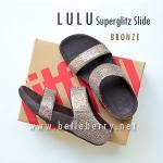 **พร้อมส่ง** FitFlop LULU Superglitz Slide : Bronze : Size US 9 / EU 41