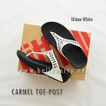 **พร้อมส่ง** FitFlop : CARMEL Toe-Post : Urban White : Size US 6 / EU 37