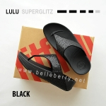 **พร้อมส่ง** FitFlop LULU Superglitz : Black : Size US 8 / EU 39