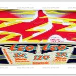 สติ๊กเกอร์ LEO ปี 96 รุ่น 2 ติดรถสีแดง