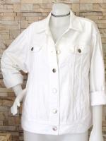 ขายส่ง:เสื้อคลุมแจ็คเก็ตยีนส์แท้แบบเก๋ๆสวยๆ/อก46