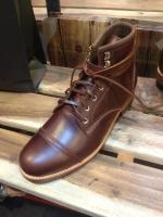 รองเท้าผู้ชาย | รองเท้าแฟชั่นชาย Brown Boots หนัง Oiled Pull Up หนังไม่ยับ ไม่แตก เวลางอขา