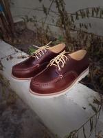 รองเท้าผู้ชาย | รองเท้าแฟชั่นชาย Brown Red Wing Oxford Replica Oiled Pull Up Leather