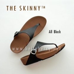 * NEW * FitFlop : The Skinny : All Black : Size US 6 / EU 37