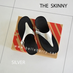 FitFlop The Skinny : Silver : Size US 5 / EU 36
