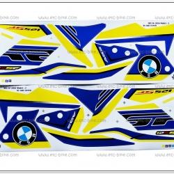สติ๊กเกอร์ MSX-SF BM ปี 2016 รุ่น 2 ติดรถสีเหลือง