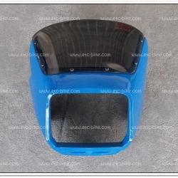 หน้ากาก RXZ เก่า พร้อมบังไมล์ สีฟ้าสด Y16