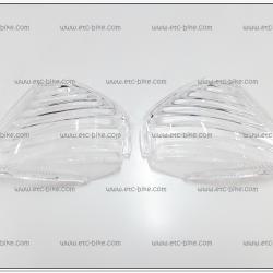 ฝาไฟเลี้ยวหลัง DREAM-EXCES (C100-P) ฝาใส (คู่ละ)