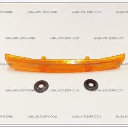 ทับทิมใต้ไฟหน้า JR120 สีส้ม