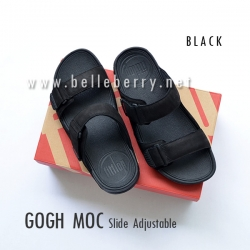 * NEW * FitFlop Men's : GOGH MOC Slide : Black : Size US 08 / EU 41