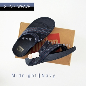 * NEW * FitFlop : SLING WEAVE : Midnight Navy : Size US 09 / EU 42