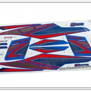 สติ๊กเกอร์ PCX150 ปี 2015 สีน้ำเงิน