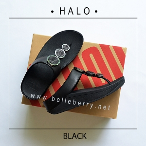 * NEW * FitFlop : HALO : Black : Size US 5 / EU 36