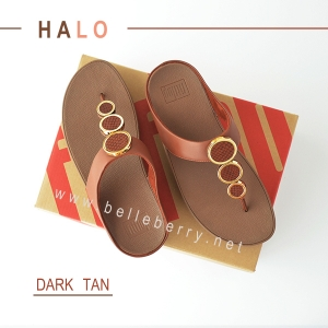 * NEW * FitFlop : HALO : Dark Tan : Size US 6 / EU 37