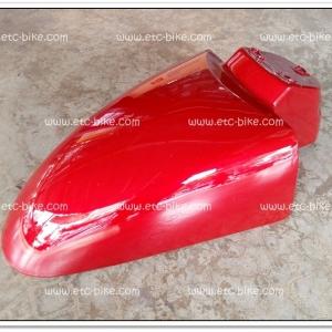 บังโคลนหน้า FINO สีแดงบรอนซ์