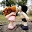 แพทเทิร์นตุ๊กตาถักคู่รักวาเลนไทน์ thumbnail 4