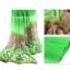 ผ้าพันคอลายทุ่งดอกไม้ Flower Garden : สีเขียว ผ้า Viscose size 180x90 cm thumbnail 6