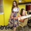 [Only590] พร้อมส่ง BRAND112 เอาใจคนตามงานสไตล์แบรนด์ดัง แบรนด์ Lynaround งานป้ายเอี้ยมลายดอก สีสันสดใสมากๆ ดีไซน์น่ารัก มีกระเป๋าเป็นรูปหัวใจ thumbnail 1