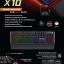 "USB Multi Keyboard ""Nubwo"" (X10) Centennial (Blue Switch Mechanical Gaming Keyboard) thumbnail 5"