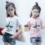 hh41 เสื้อ เด็กโต size 140-160 3 ตัวต่อแพ็ค