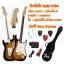 กีตาร์ไฟฟ้า Squier Bullet Stratocaster สีซันเบิร์ท พร้อมกระเป๋า+เครื่องตั้งสาย+สายแจ๊ค+สายสะพาย+ปิ๊ค+กล่องเก็บปิ๊ค+คันโยก+ประแจ+จัดส่งฟรี thumbnail 1