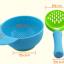 ชุดชาม บด อาหารเด็ก + ด้ามบดอาหาร สีฟ้า thumbnail 3