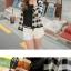 [ขายดีมากสไตล์ญี่ปุ่นแบรนด์ VIVI] พร้อมส่ง ATA436 เสื้อคลุมลายสก๊อต แบบน่ารักแต่งง่าย #516 thumbnail 4