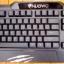 "USB Keyboard ""NUBWO"" (NK-11) Black (ปรับไฟได้ 3 สี) thumbnail 6"