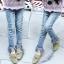 hh32 กางเกงยีนส์ เด็กโต size 140-160 3 ตัวต่อแพ็ค