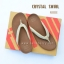 FitFlop : CRYSTAL SWIRL : Nude : Size US 8 / EU 39