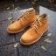 รองเท้าผู้ชาย | รองเท้าแฟชั่นชาย Tan Ankle Boot หนังนูบัคแท้ กันน้ำ thumbnail 1