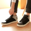 รองเท้าผู้ชาย | รองเท้าแฟชั่นชาย รองเท้าหุ้มข้อ แฟชั่นเกาหลี thumbnail 1