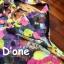 [Only590] พร้อมส่ง BRAND112 เอาใจคนตามงานสไตล์แบรนด์ดัง แบรนด์ Lynaround งานป้ายเอี้ยมลายดอก สีสันสดใสมากๆ ดีไซน์น่ารัก มีกระเป๋าเป็นรูปหัวใจ thumbnail 9