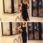 (ฟรีไซส์) [พร้อมส่งสีดำ] ATA329 ใหม่! Sexiest Dress เดรส/แซคผ้ายืดผ่าหน้าตัวยาว ใส่แบบเซ็กซี่ หรือใส่แบบเฉี่ยวเปรี้ยวเก๋ๆ สวยสุดๆ #420 thumbnail 3
