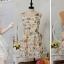 """""""พร้อมส่ง""""เสื้อผ้าแฟชั่นสไตล์เกาหลีราคาถูก Brand Cherry KOKO เดรสสีเหลืองอ่อนลายดอก แขนกุด ซิปข้าง มีซับใน2ชั้นเป็นซับในผ้าแก้วชั้นนึง ด้านหลังซีทรูสีเนื้อ ติดโบว์ด้านหลัง thumbnail 1"""