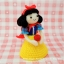 แพทเทิร์นตุ๊กตาถักสโนวไวท์ (Amigurumi Snow White Pattern) thumbnail 5