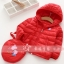 พร้อมส่ง เสื้อขนเป็ดเด็ก Peppa Pig สีแดง size: 90-140 thumbnail 3